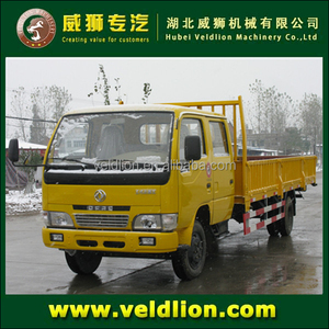 Double cabin 2 tons light cargo truck