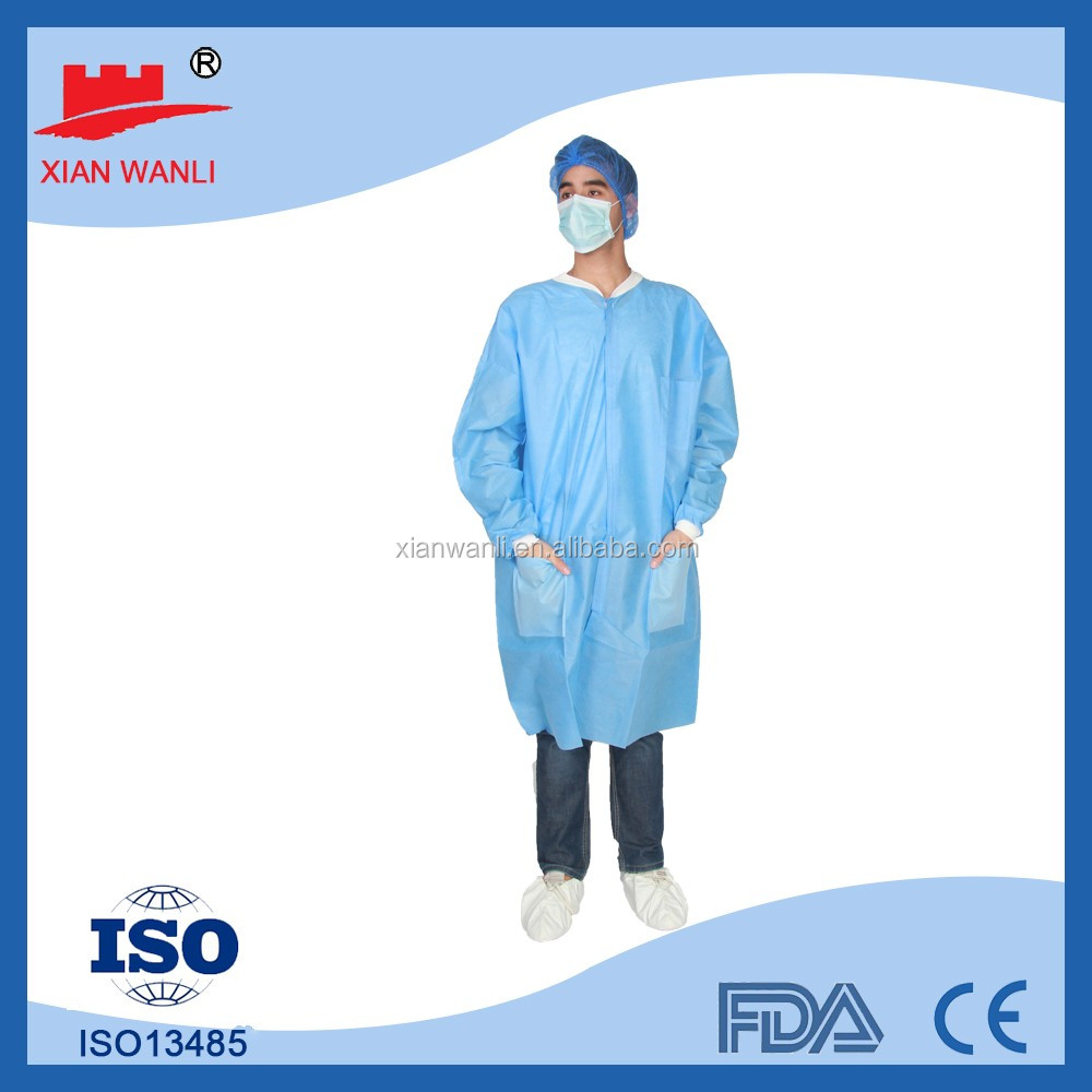 medical nonwoven cheap disposable kids disposable cool lab coats wholesale