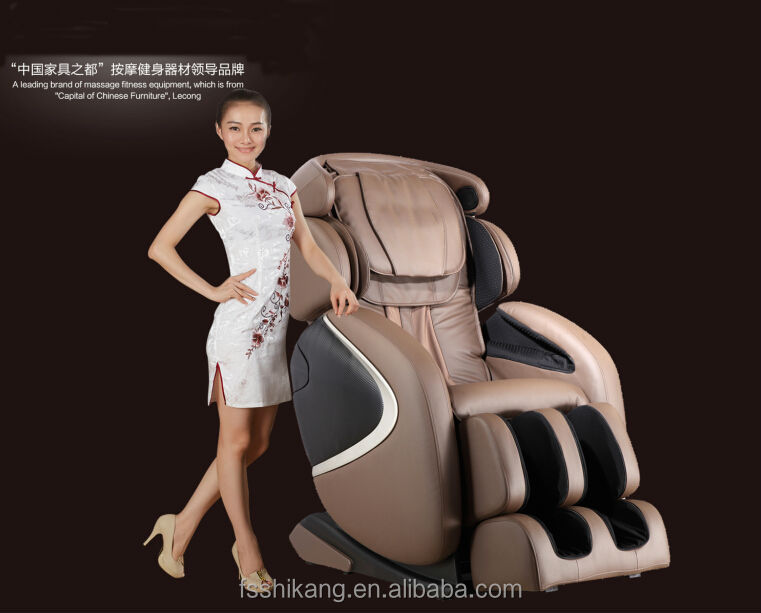 L SHAPE electric full body massage chair