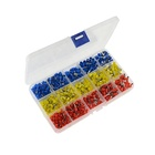 KUAILI 600Pcs E2508 E4009 E0512 E0508 E0510 Insulated Cord End Terminal Terminals Assortment Kit