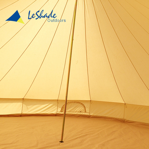 Best quality big outdoor party bell tent withstand wind garden line gazebo