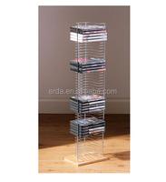 Floor Standing Wood Base 50 CDs DVD / CD towers rack