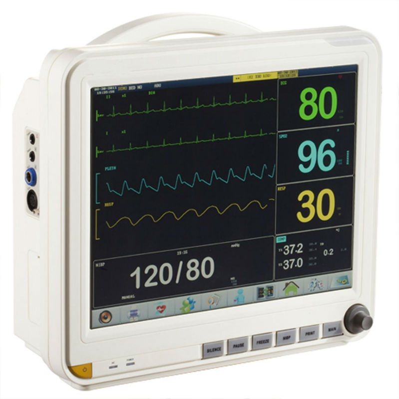 Hospital Icu Medical Heart Rate Monitor/6 Parameter ...
