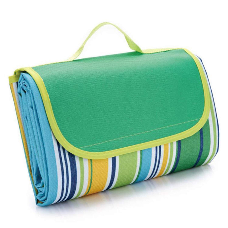 Myrna Austen Waterproof Foldable Outdoor Camping Mat Widen Picnic Mat Plaid Beach Blanket