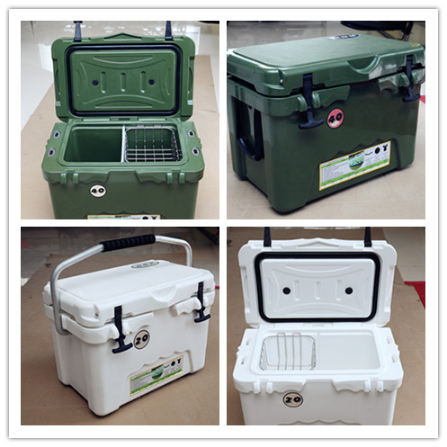 Food grad outdoor camping fishing plastic ice cooler box wholesale