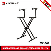 Best Price wholesale Metal Electronic 2 tier keyboard stand