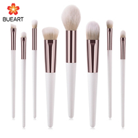 High Quality Wholesale Glitter Cosmetic Brush Private Label Custom Logo Hand-make Makeup Brush