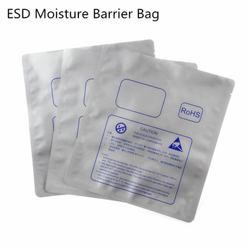 Storing Electronic Components Electrostatic Discharge Esd Plastic Polyethylene Terephthalate Pet Silvery Antistatic Bag Anti Static