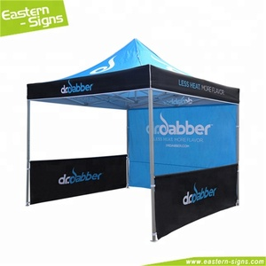 Strong Heavy Duty Aluminum Folding Commercial 3X3M Printed Custom Gazebo Tent