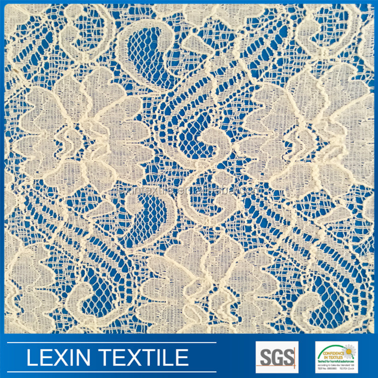 High quality swiss big heavy cotton voile lace fabrics