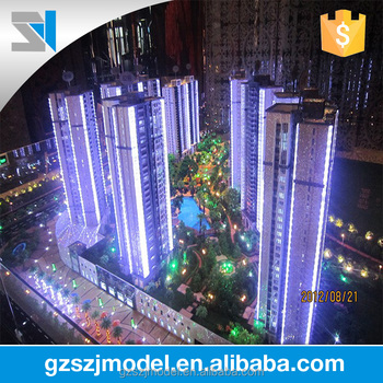 Architecturale Verlichting Voor Model Residentiële Architectonische ...