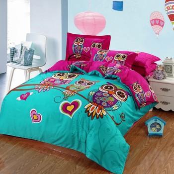 Nice 100% Cotton Kids 3d Bed Sheet Wholesale Comforter Sets Bedding