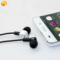 Hot sale 2019 metal housing cheap headphone for mp3 player promotion price