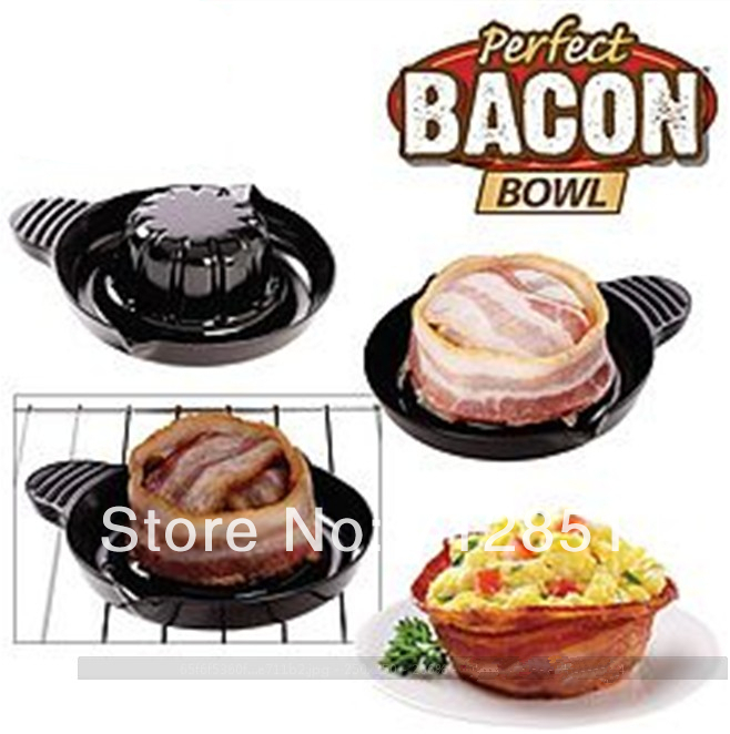 2 Perfect Bacon Bread Bowls As Seen On Tv Use In Oven