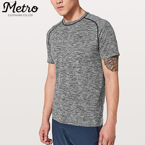 wholesale mens fitness blank slim fit muscle running t shirts