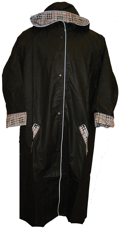 Get Quotations · Raincoat Black Boys Nylon Raincoat Sizes  2 20 By Shaindys  Childrens Wear (5 e3f4bbceb57a
