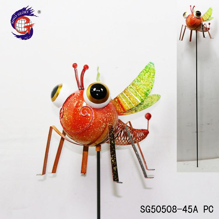 Dragonfly Painted Metal Garden Art Wholesale, Art Suppliers - Alibaba