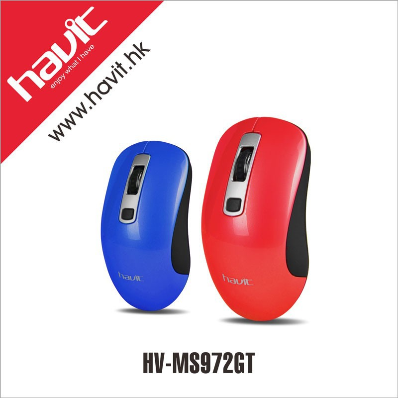 Havit hot sale high quality havit 2.4ghz wireless mouse with micro-receiver