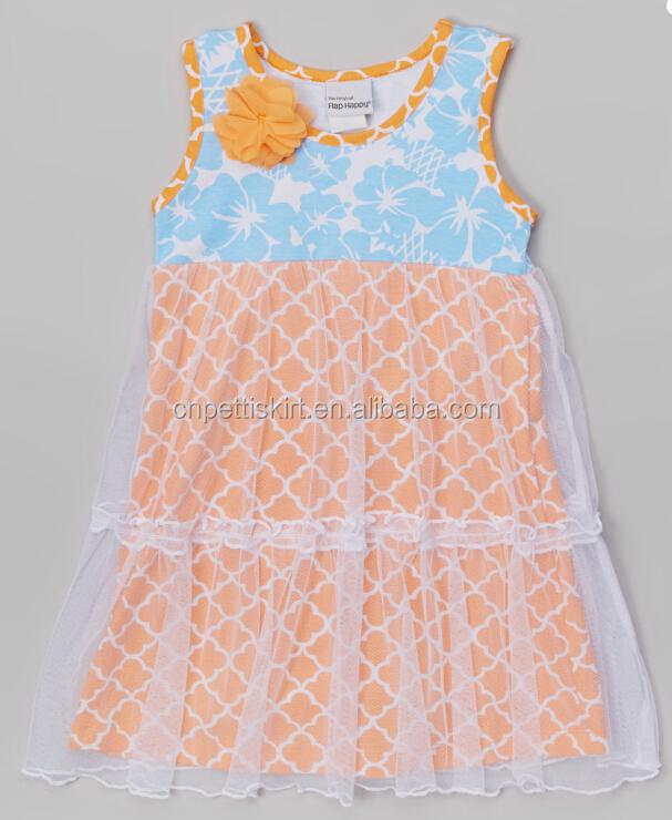 Colorful Chevron New Design Chevron Fancy Dresses Baby Girl Summer ...
