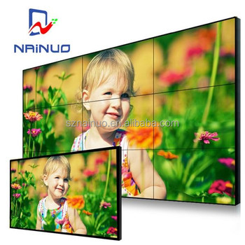 Penuh warna 2017 China samsung tv mulus lcd dinding video 42 inch luar