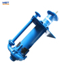 Rubber liner centrifugal vertical slurry sump pump