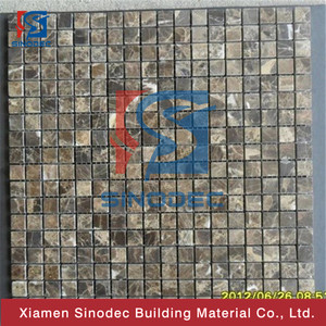 Domestic and foreign furniture polished natural marble mosaic decoration