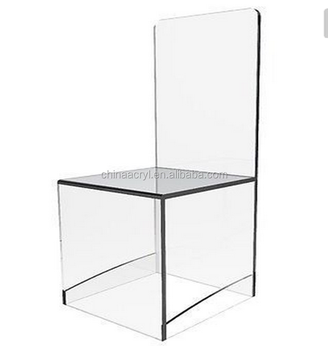 Clear acrylic chair and ghost chair acrylic for wholesaler