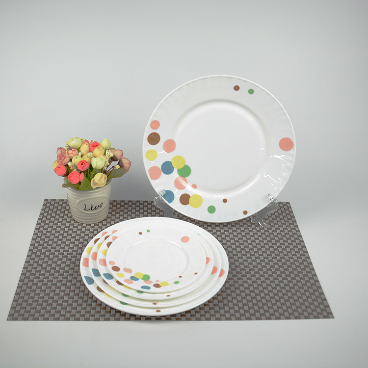 factory provide hotel serving dishes exclusive ecological opal glass dishes
