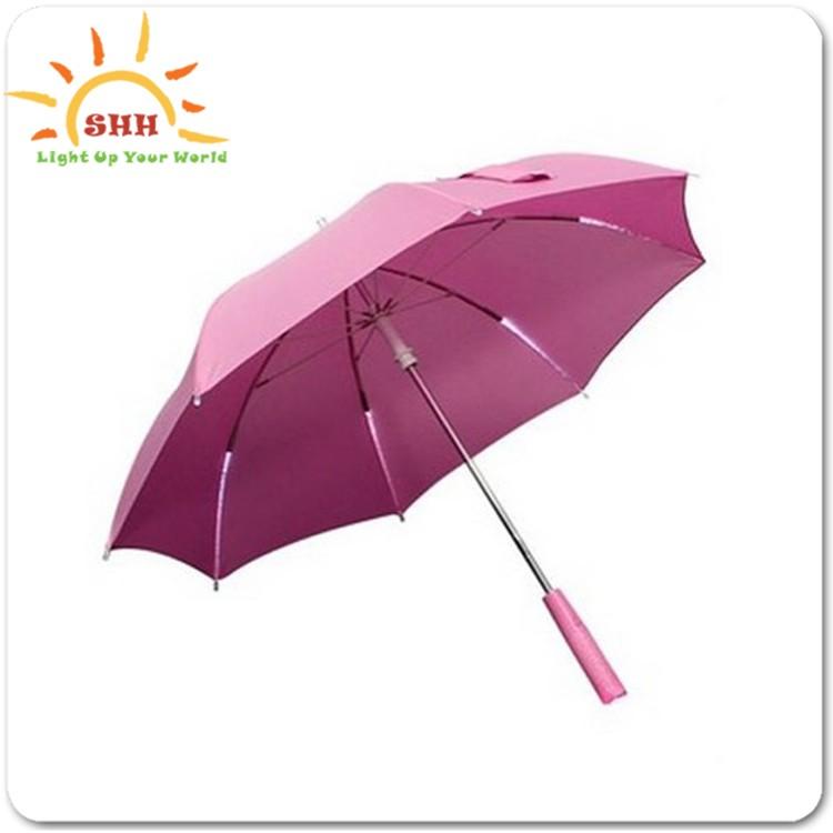 Leuchten Regenschirm,Handgriff Led-licht,Led Regen Regenschirm - Buy ...