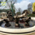 Pure-Hand Carving Metal Bronze Water Fountain For Garden Decoration