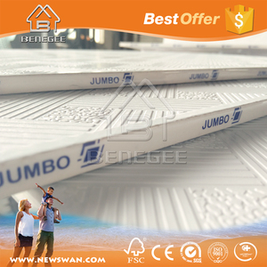 Ceiling Gypsum Board Price / PVC Laminated Gypsum Ceiling Tiles