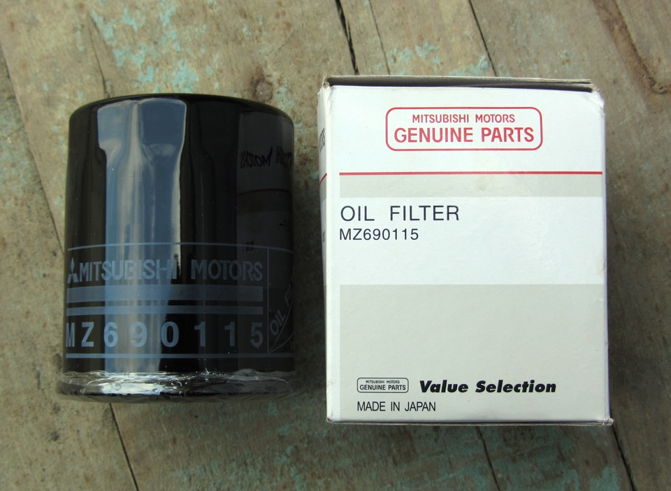 Genuine Mitsubishi Oil Filter MZ690115