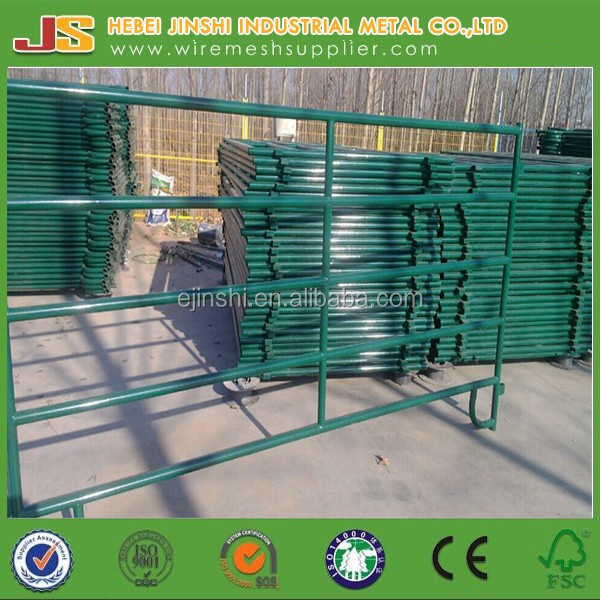 Used Metal Horse Fence Panels / Pipe Fencing For Horses - Buy Used ...
