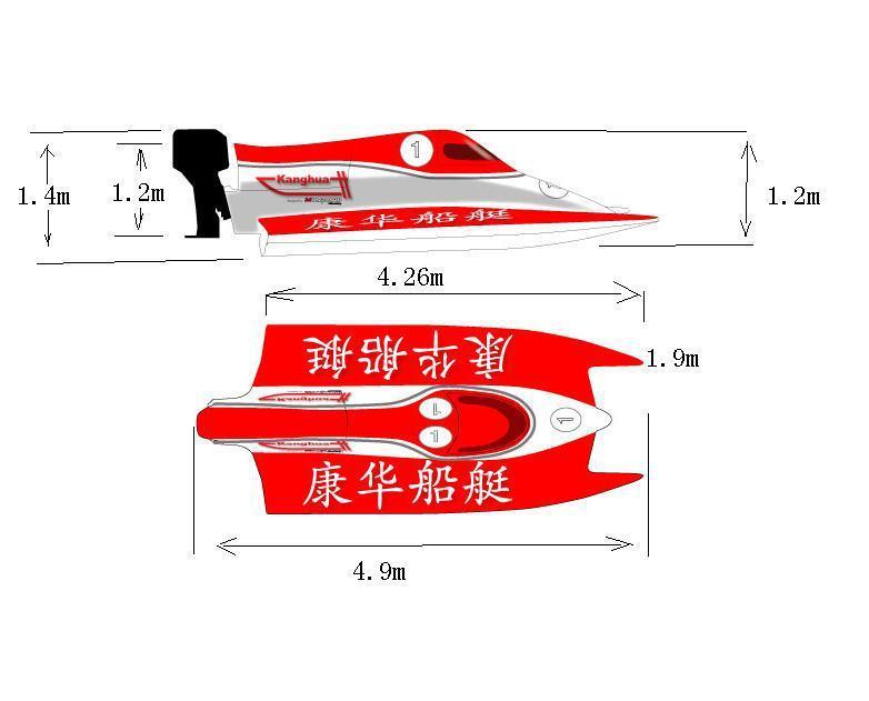 Formula Racing Boat With International Certificate/molgaard Race ...