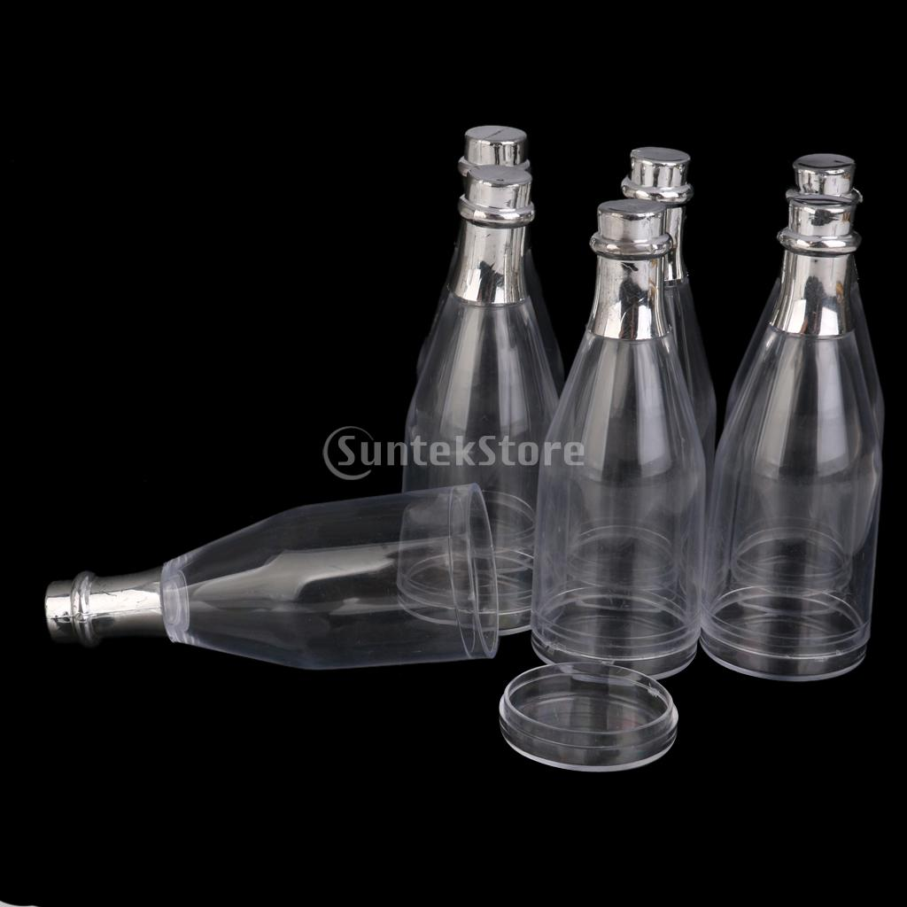 champagne bottle with candy