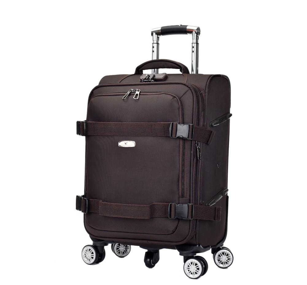 New Design Top Quality Nylon Farbic Trolley Luggage Leisure Large ...