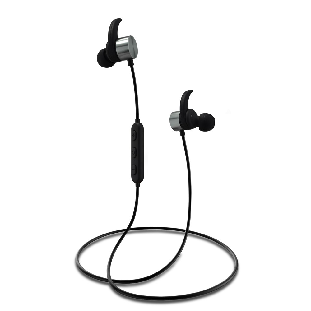 RAMBOTECH New Design High Volum Bluetooth Headset Wireless Earphones for Running with Mic--R1615