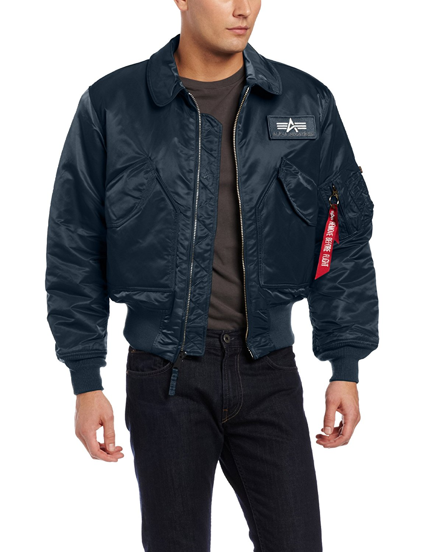 2378d4a5819 Alpha Industries Men s CWU 45 P Flight Jacket