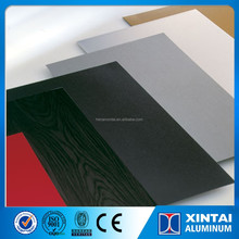 A3003 hot rolled PE & PVDF roller coating aluminum sheet