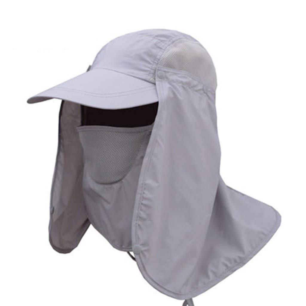 Ren Chang Jia Shi Pin Firm Men's Outdoor Sun Hat Summer Breathable Mosquito Hat Cap