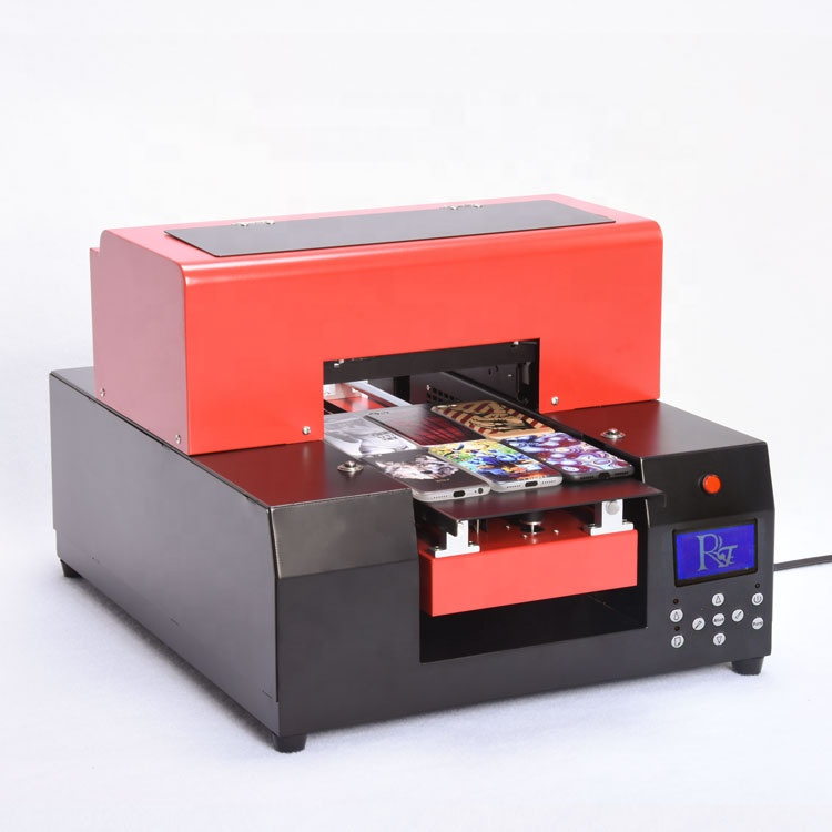 Factory price A4 UV flatbed printer for pen, golf ball, pvc card, phone case