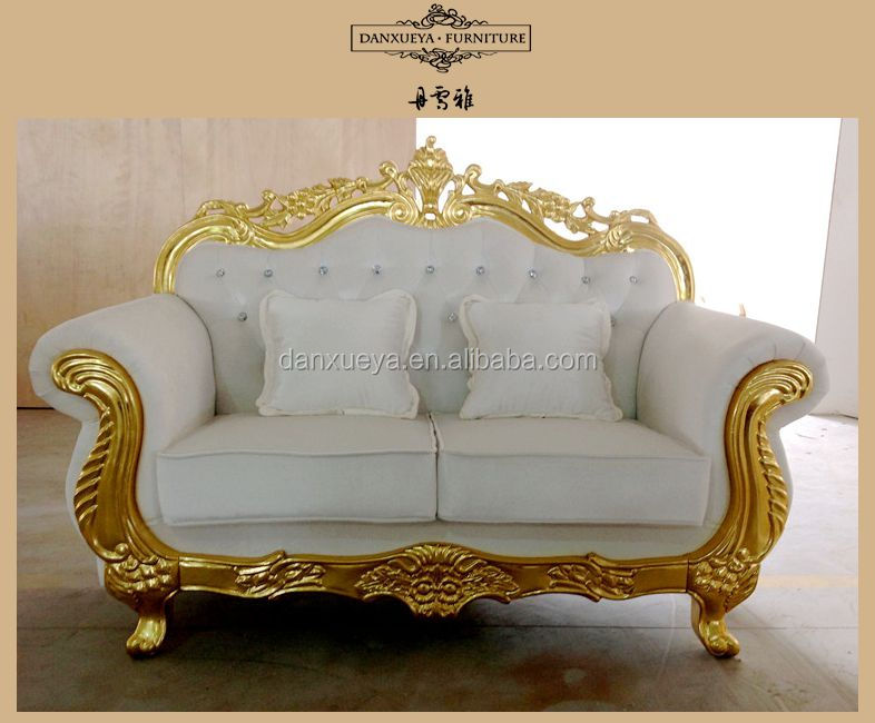 Etonnant Nailhead Velvet Sofa,Golden White Wedding Sofa,Luxury Carved Sofa Set   Buy  Luxury French Sofa Set,Luxury Hand Carved Sofa Set,Luxury Wedding Bedding  Set ...