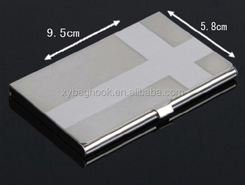 Bulk sale folded aluminium business card holder buy folded bulk sale folded aluminium business card holder colourmoves