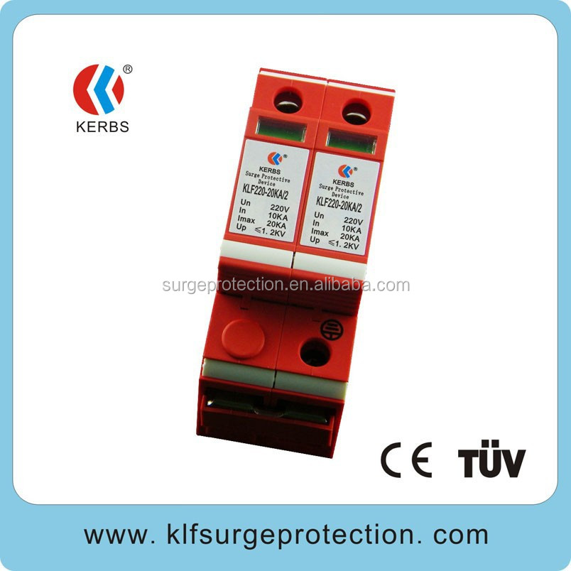 comply with ce standard high quality 20KA power filter surge protector