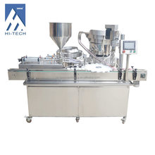 Automatic cheap price HT-G16 bottle liquid filling machine price for Chemical,Food,Medical, Cream In hot filling