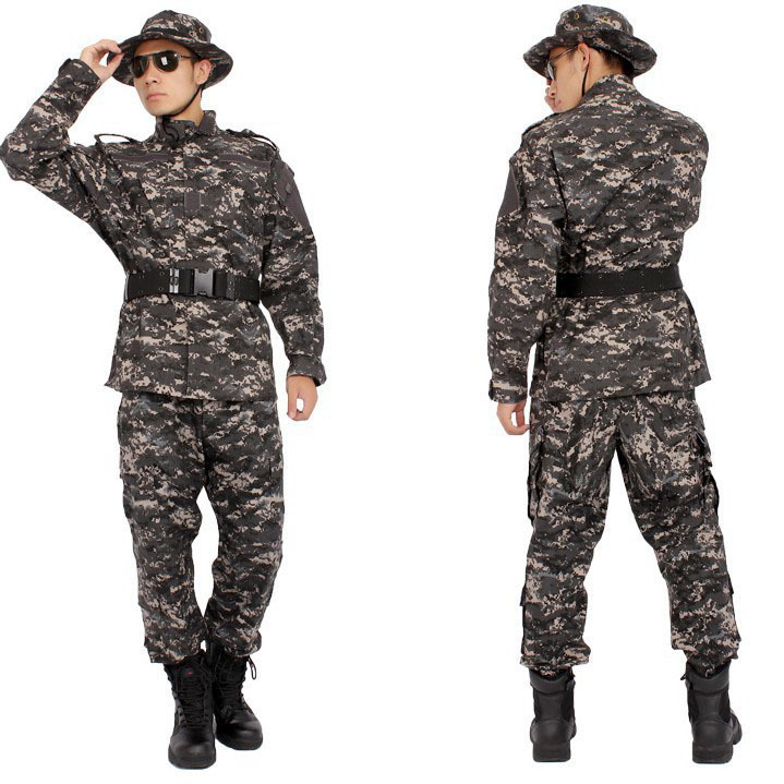 Wholesale Army Men Black Military Camouflage Uniform ... - photo#47