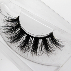 100% real mink fur eyelash wholesale soft lashes