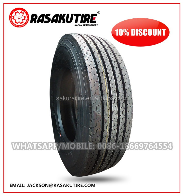 Safe steer wheel truck tire 285 75r22.5 255 70r22.5 from WANLI factory