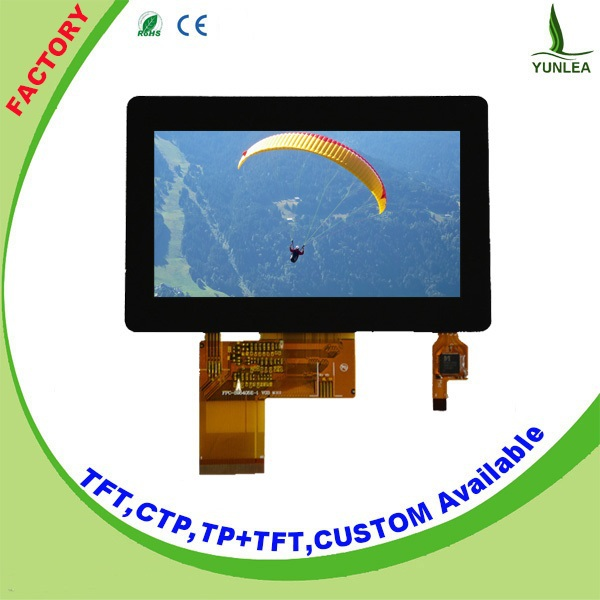industrial rgb interface 4.3 inch 480x272 touch lcd panel