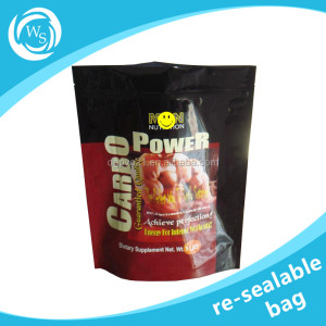 Food grade sachet gravure printing stand up foil laminated plastic grain/coffee seeds packaging bags snack bag